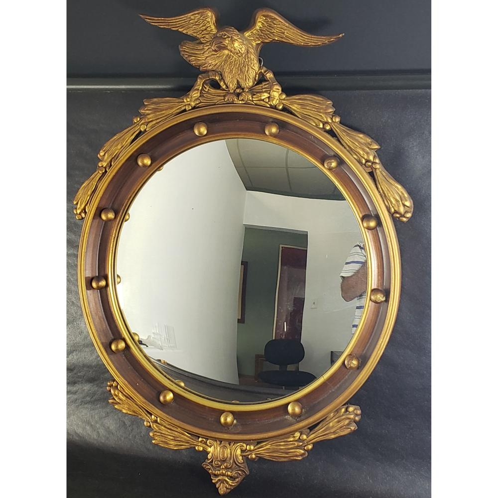 Antique Mirror With Eagle