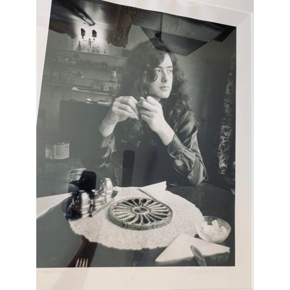 1977 Jimmy Page Photo Original # 1/75 Led Zeppelin