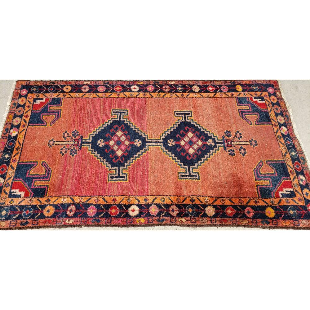 Antique Persian Rug 19th Century.