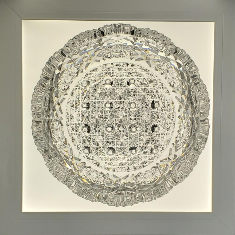 "American Brilliant Period Hunt Cut Glass Bowl ""ROYAL"" Pattern"