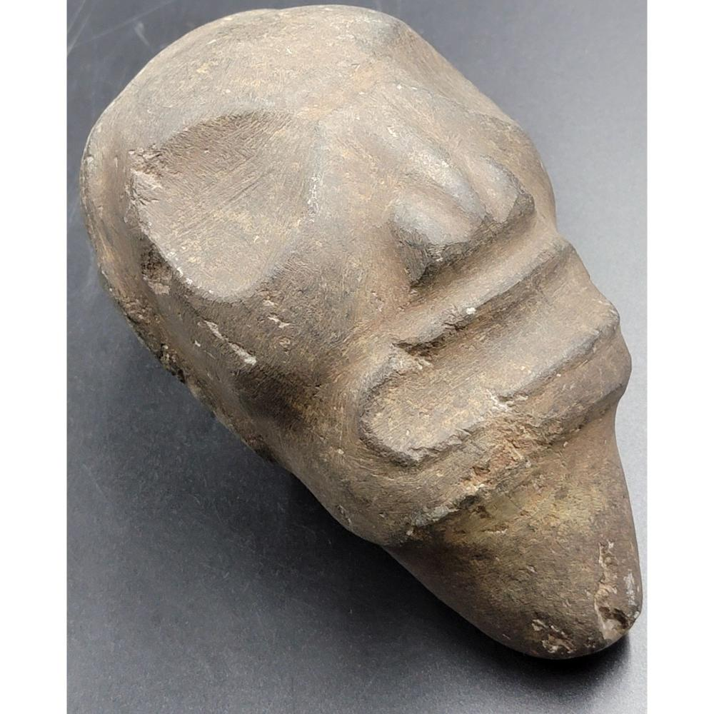 TWO OF 3 AUTHENTIC PRE COLOMBIAN TAINO FIGURE