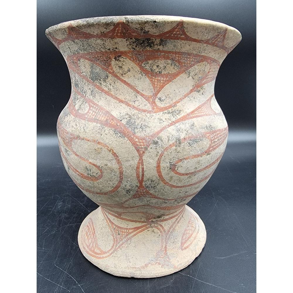Ancient Thai Ban Chiang Bichrome Jar 200-300 BCE