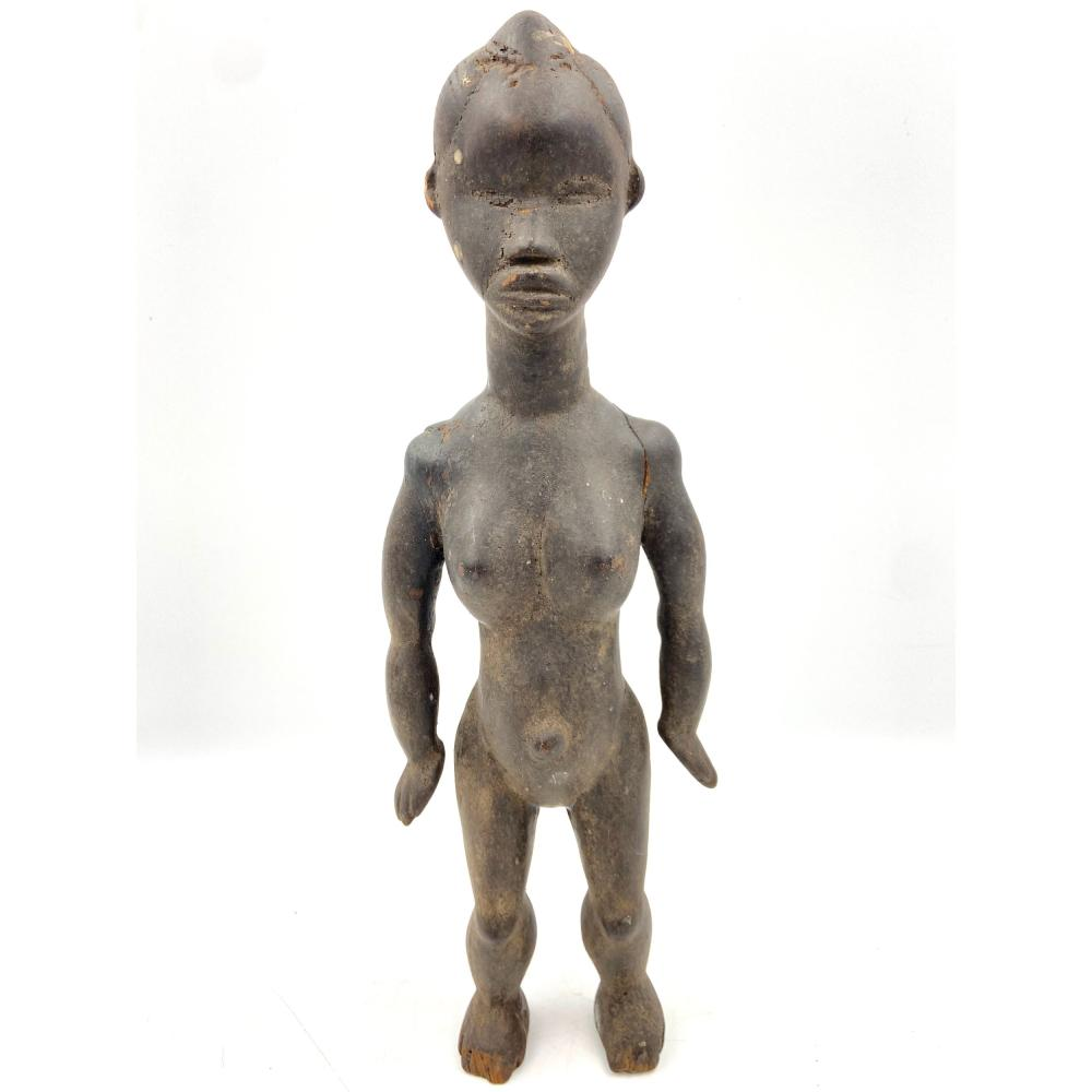 Hand Carved African Wood Sculpture