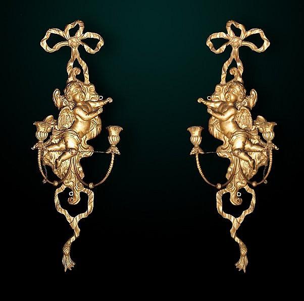 54: Pair of 19th Century Italian Sconces