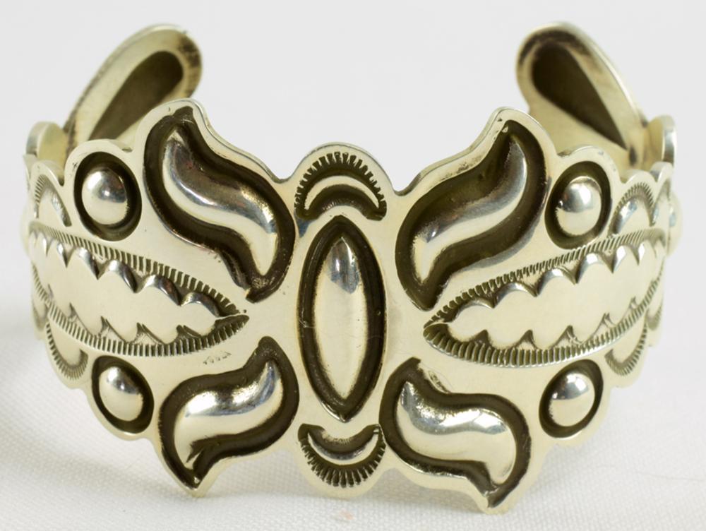 Alex Sanchez {New Style} Repousse Sterling Bracelet