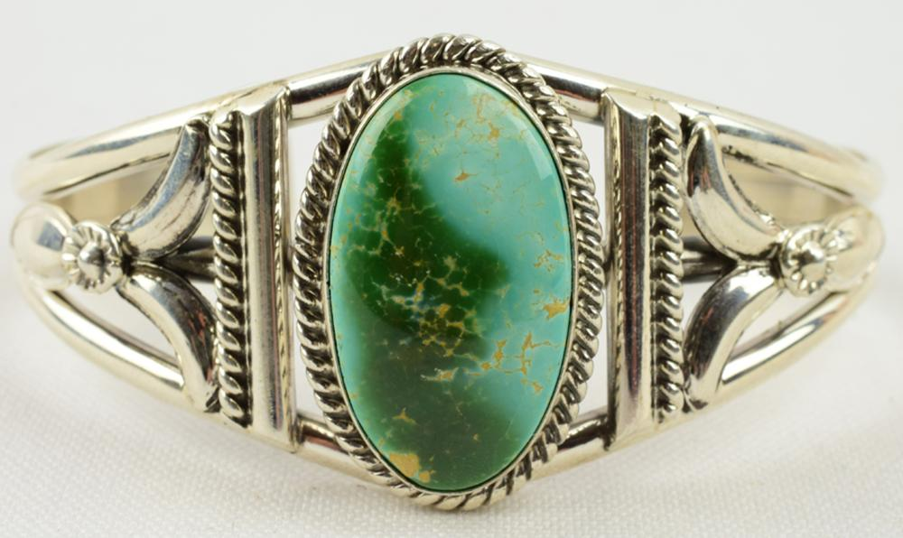 Mary Ann Spencer Royston Turquoise Cuff Bracelet