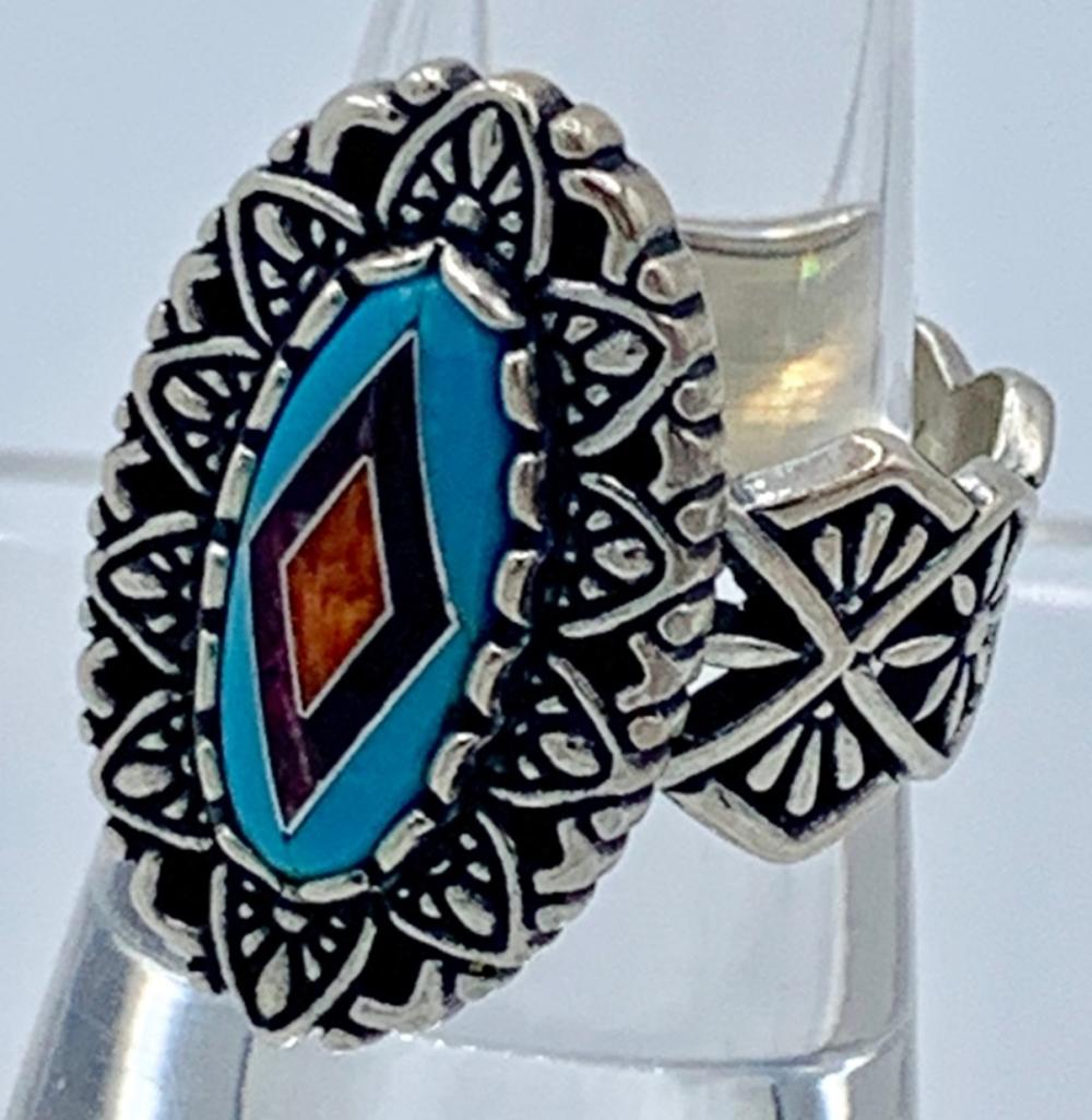 STERLING SILVER CAROLYN POLLACK RING SIZE 9