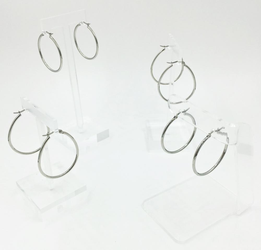 STEEL BY DESIGN EARRINGS