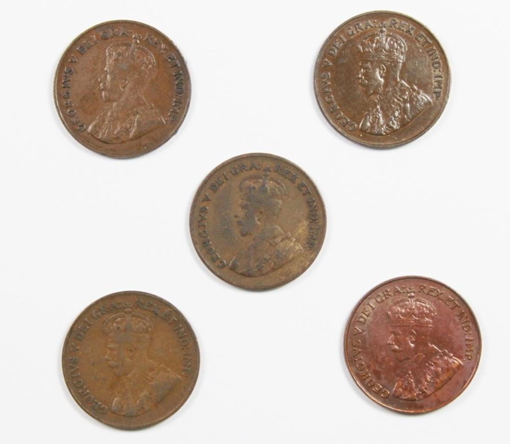 KEY DATE CANADA CENT LOT: