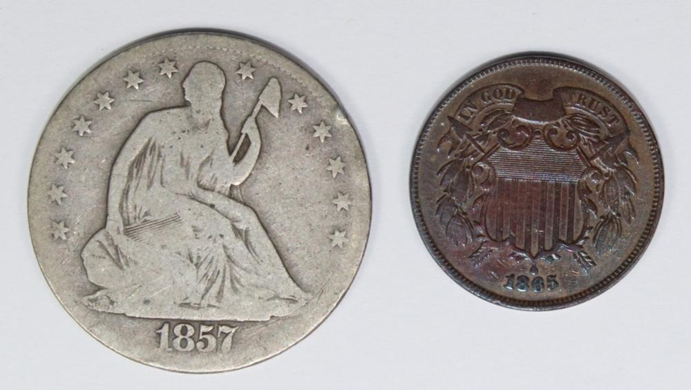 TWO COIN LOT