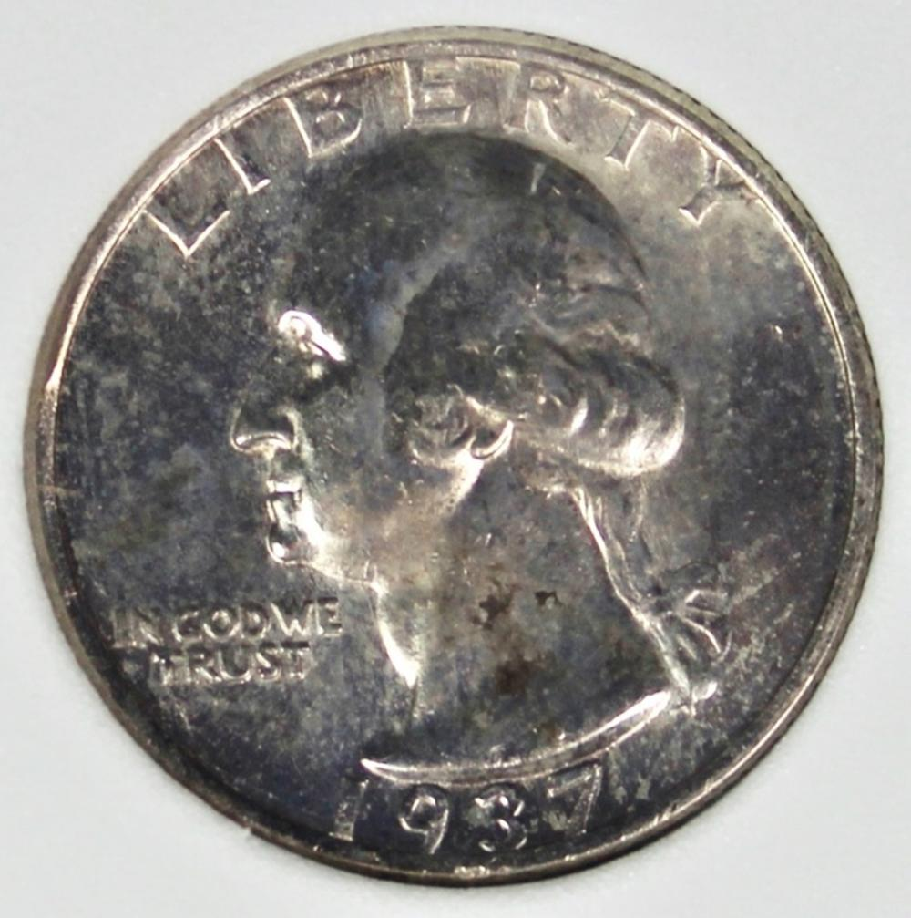 1937-S WASHINGTON QUARTER