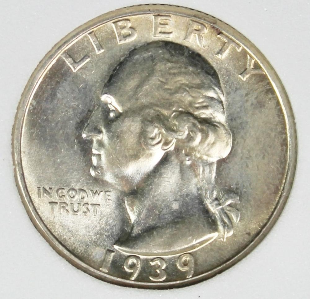 1939-S WASHINGTON QUARTER