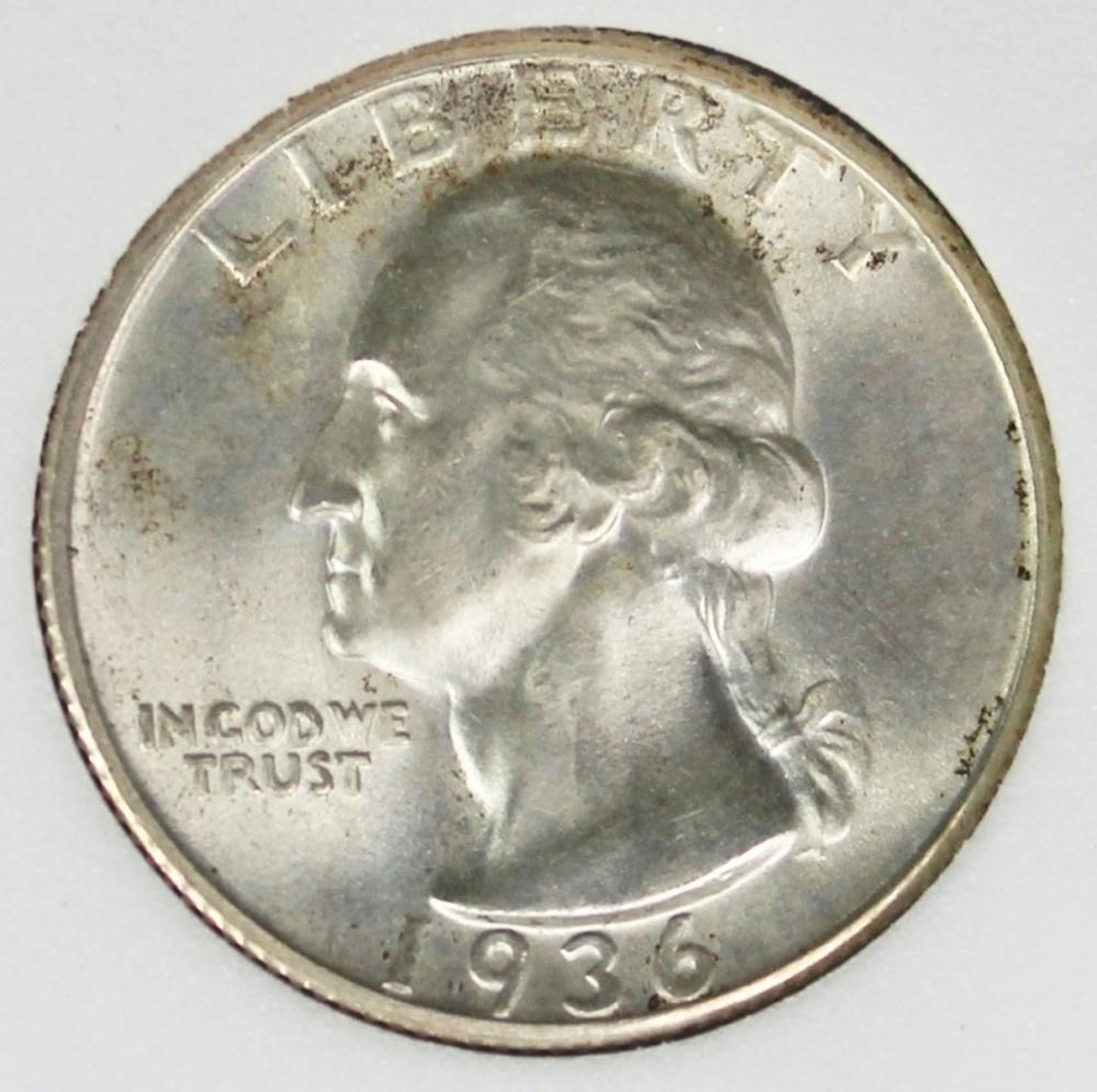 1936-S WASHINGTON QUARTER