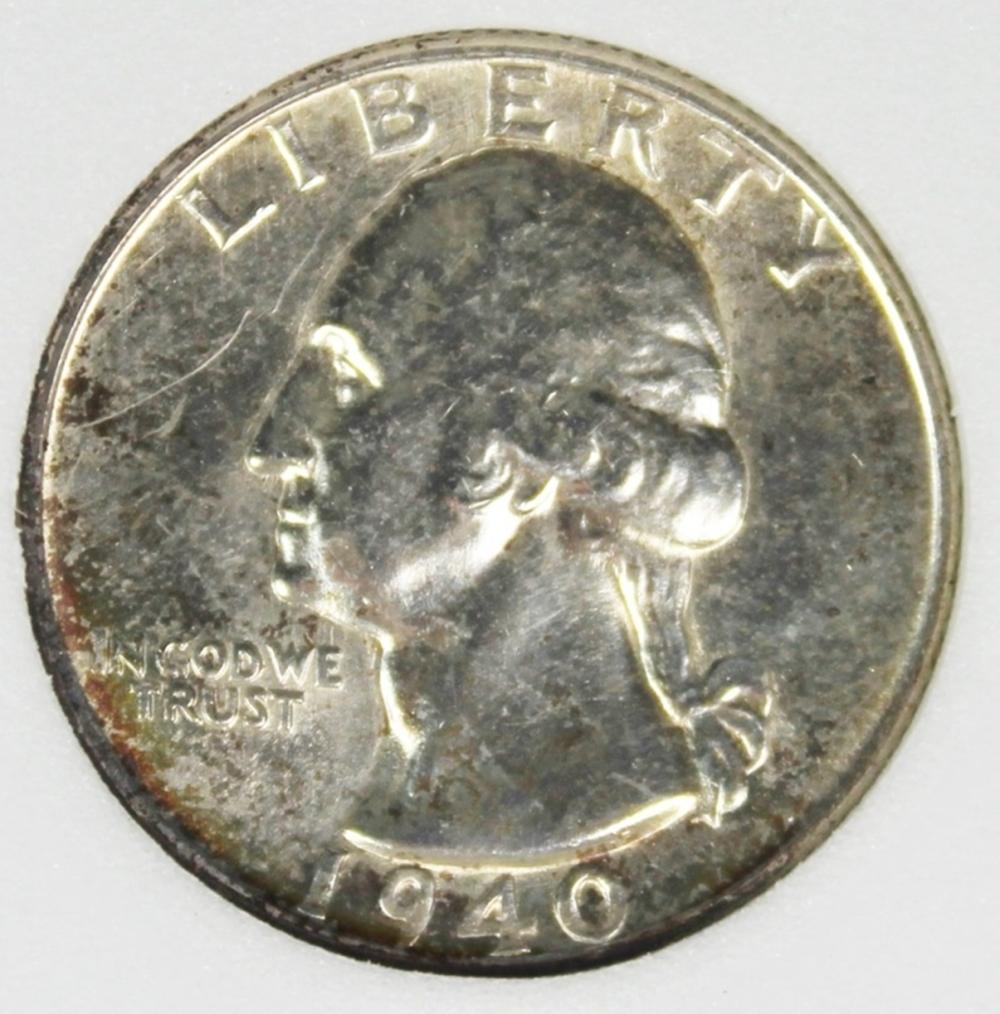 1940-D WASHINGTON QUARTER