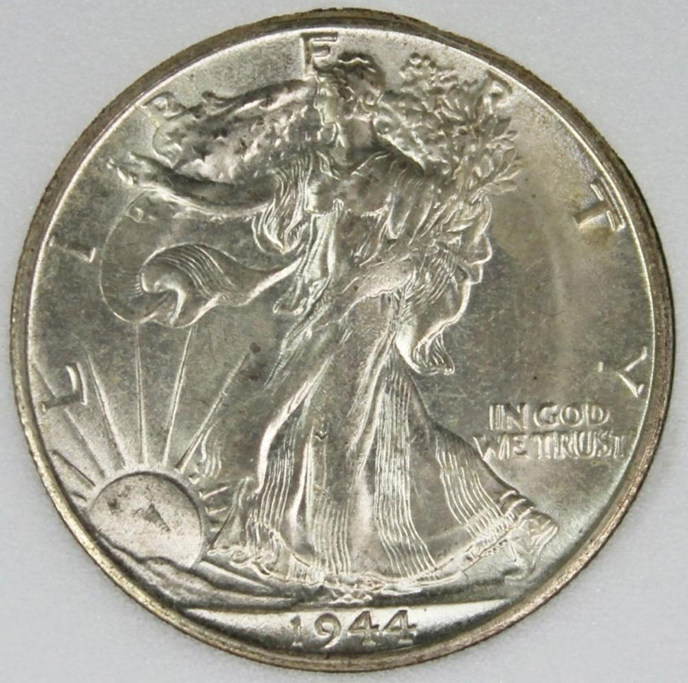1944-S WALKING LIBERTY HALF DOLLAR
