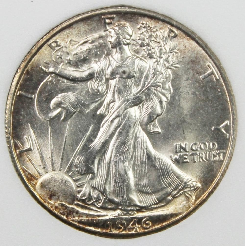 1946-S WALKING LIBERTY HALF DOLLAR
