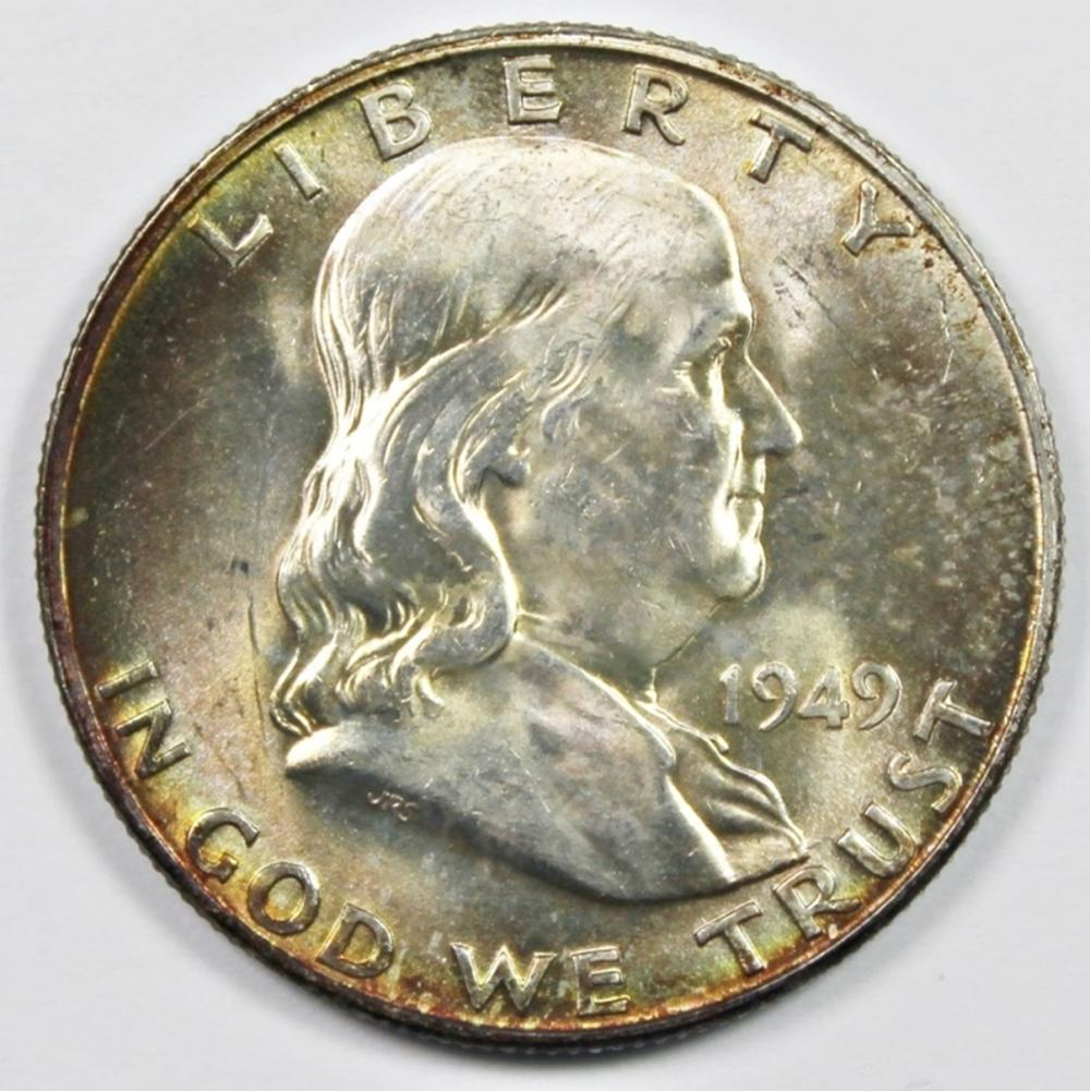 1949-D FRANKLIN HALF DOLLAR