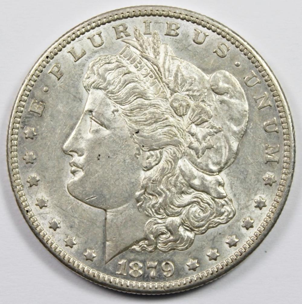 1879-S REVERSE 78 MORGAN SILVER DOLLAR