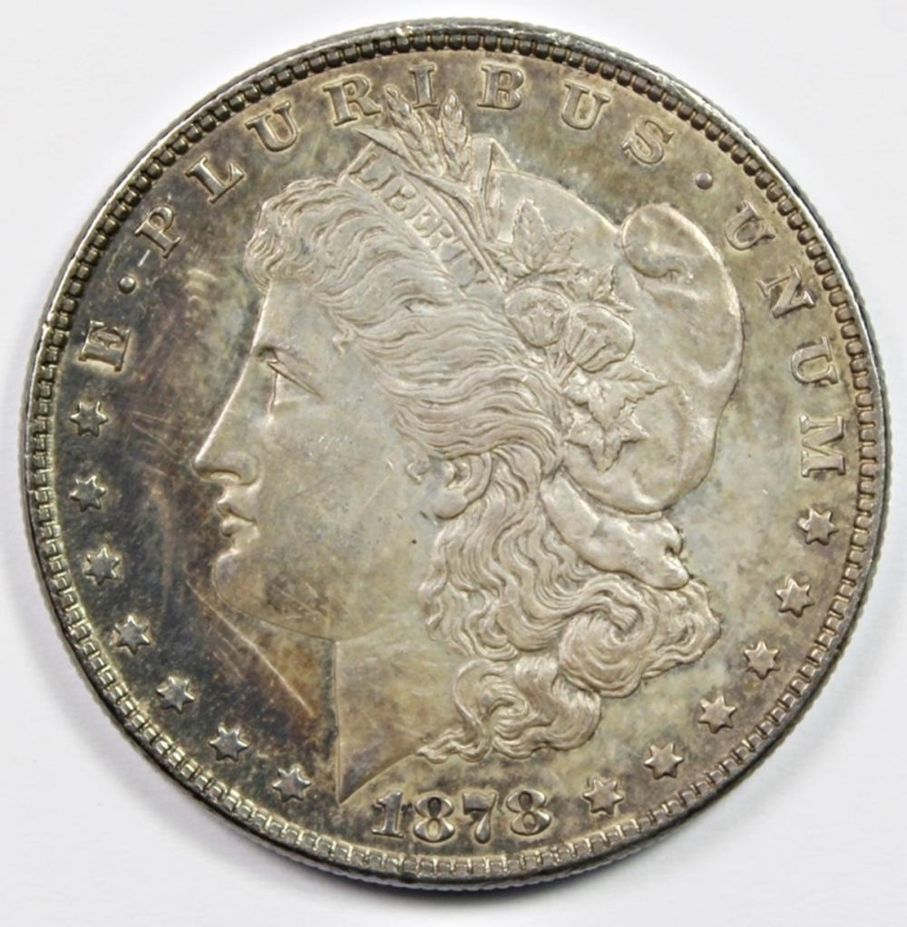 1878 REVERSE 79 MORGAN SILVER DOLLAR