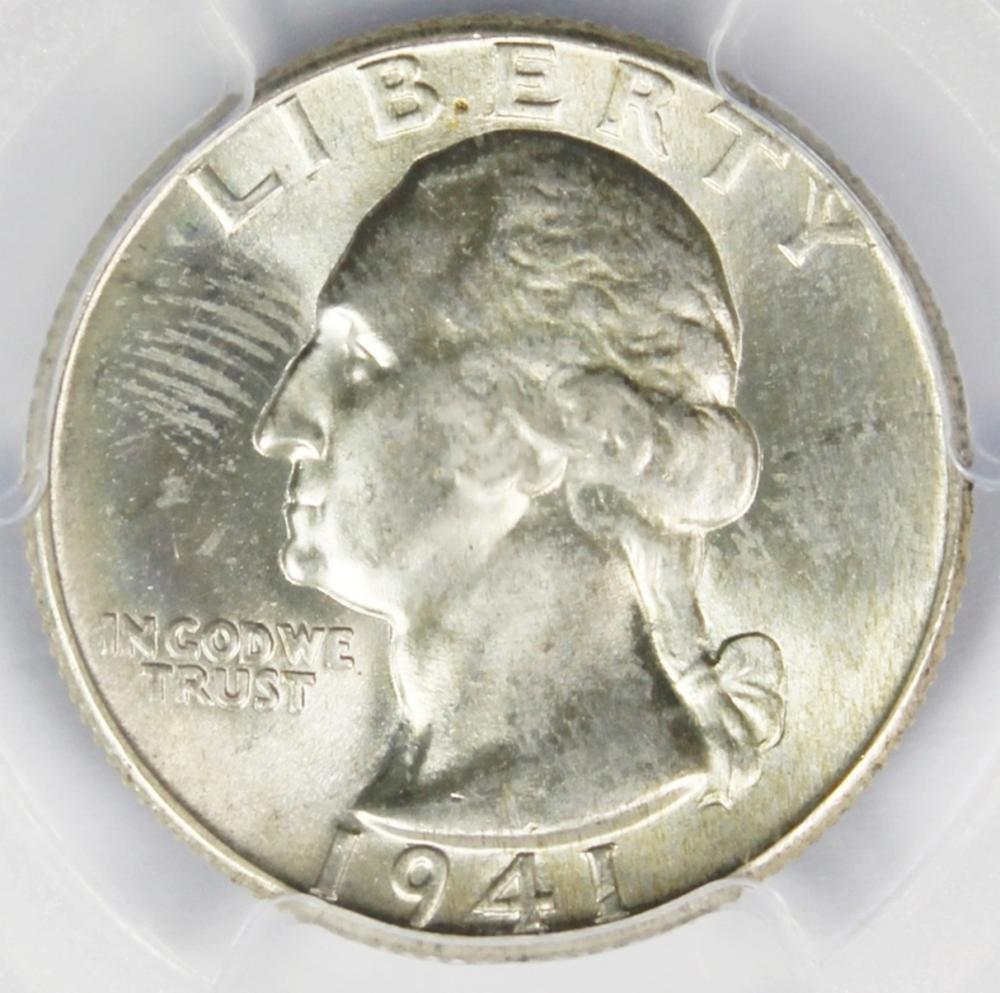 1941 WASHINGTON QUARTER