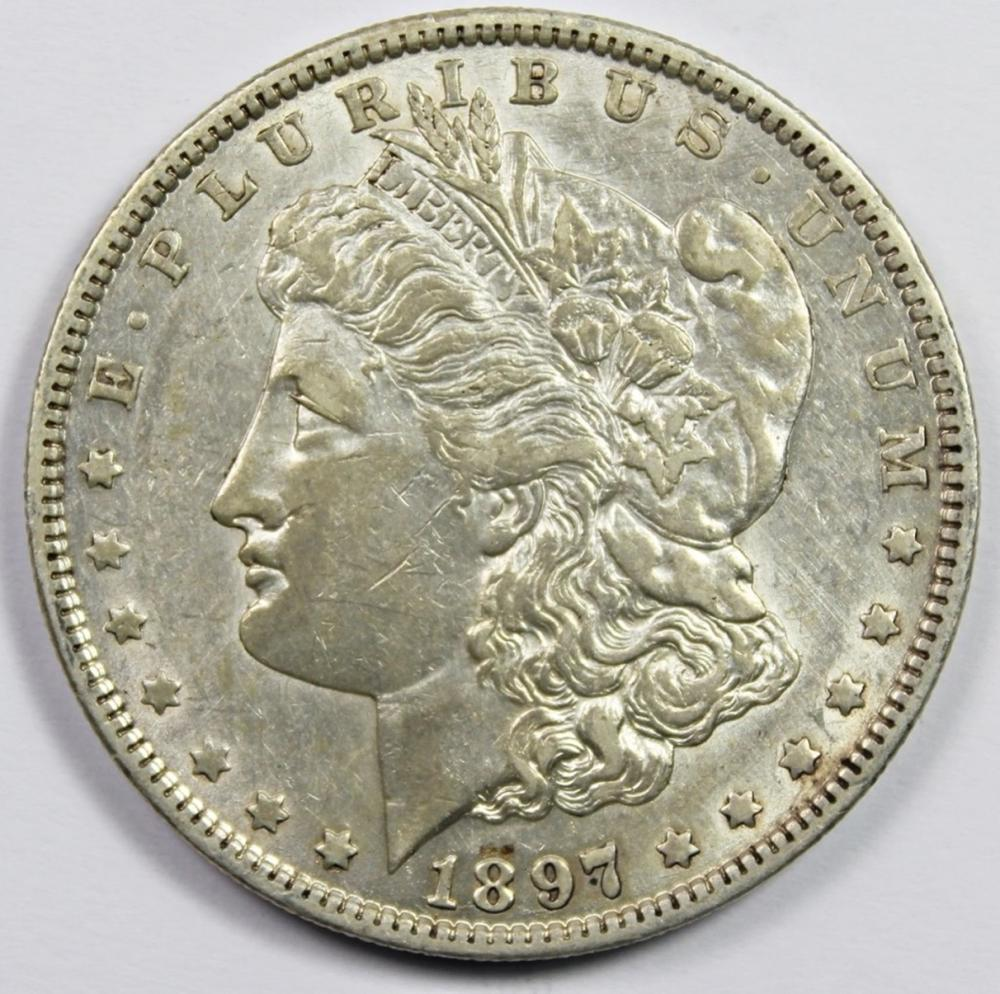 1897-O MORGAN SILVER DOLLAR