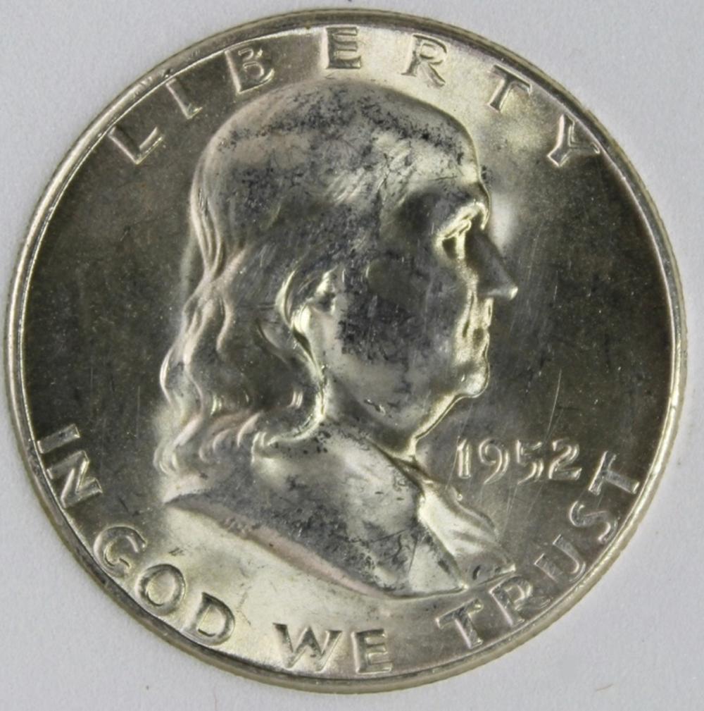 1952-S FRANKLIN HALF DOLLAR