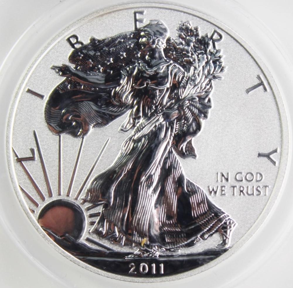 2011-P AMERICAN SILVER EAGLE