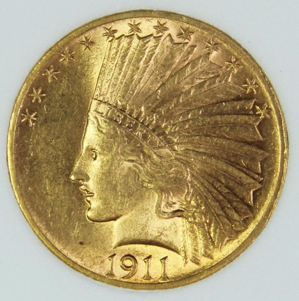 1911 $10 GOLD INDIAN