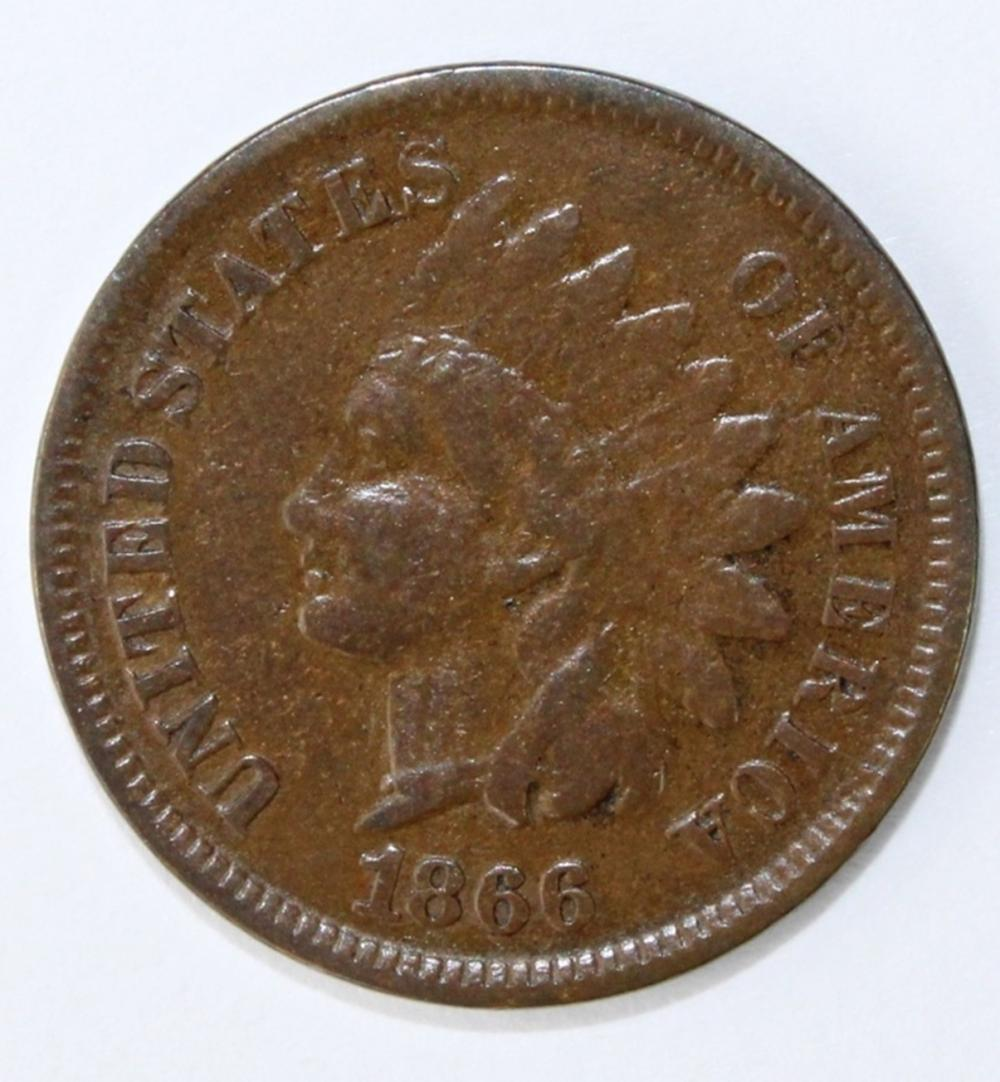 1866 INDIAN CENT