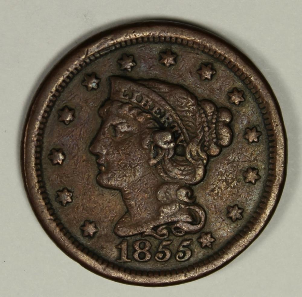 1855 LARGE CENT