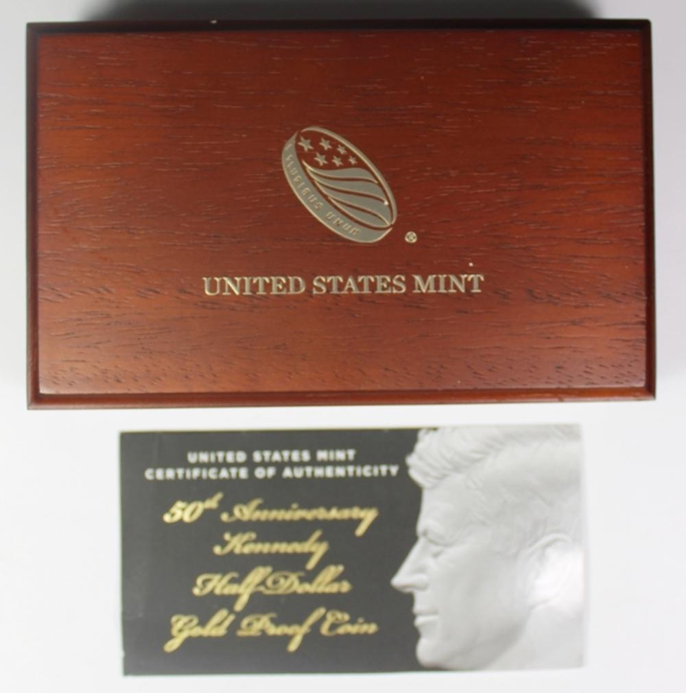 2014 KENNEDY 50TH ANNIVERSARY GOLD