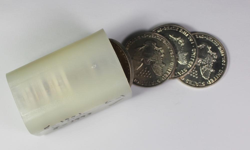 ROLL OF (20) AMERICAN SILVER EAGLES: