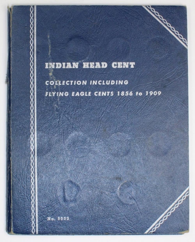 PARTIAL INDIAN CENT SET