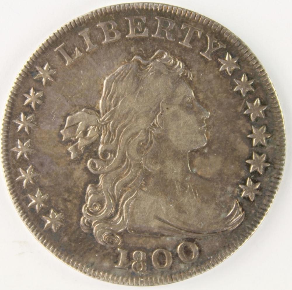 """1800 BUST DOLLAR """"AMERICAI"""""""