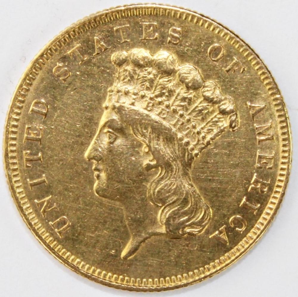 1861 $3.00 GOLD