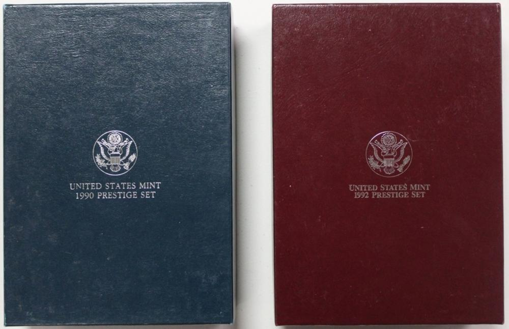 Lot 5: PRESTIGE SETS: 1990 AND 1992