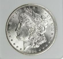 Lot 20: 1884-CC MORGAN SILVER DOLLAR