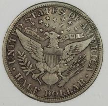 Lot 23: 1912-D BARBER HALF DOLLAR