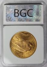 Lot 12: 1927 $20.00 ST. GAUDENS GOLD