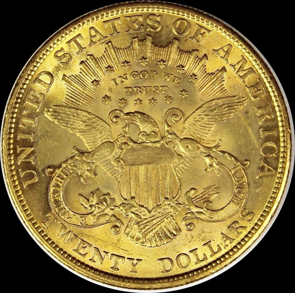 Lot 13: 1904 $20.00 LIBERTY GOLD
