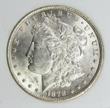Lot 26: 1878 REV 1879 MORGAN SILVER DOLLARS