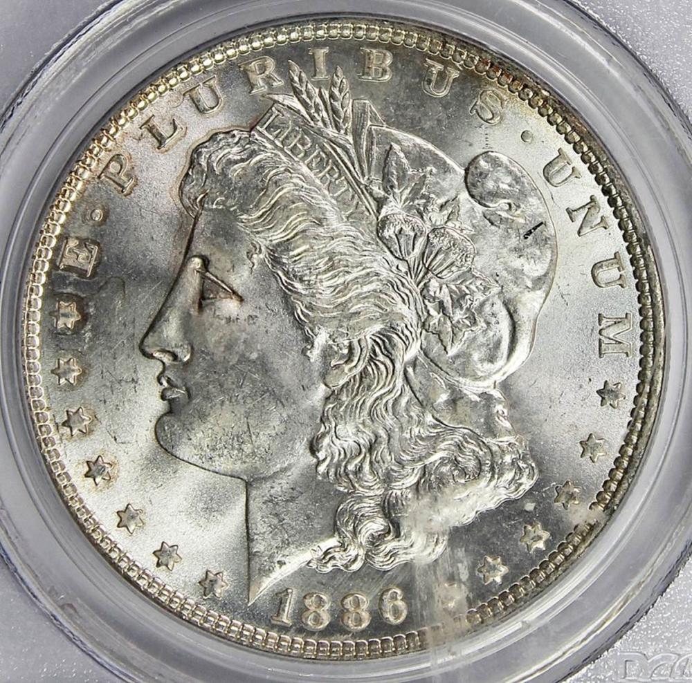 Lot 32: 1886 MORGAN DOLLAR