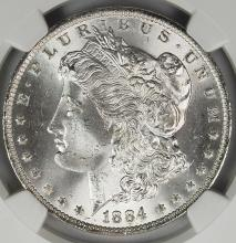 Lot 30: 1884-O MORGAN DOLLAR