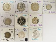 Lot 41: COIN LOT: SEE DESCRIPTION