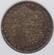 Lot 49: 1901 MORGAN SILVER DOLLAR