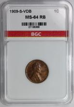Lot 47: 1909-S VDB LINCOLN CENT