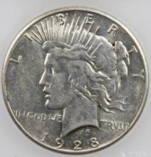 Lot 53: 1928 PEACE DOLLAR