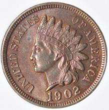 Lot 71: 1902 INDIAN CENT