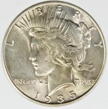 Lot 67: 1935-S PEACE DOLLAR