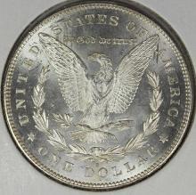Lot 76: 1878-S MORGAN SILVER DOLLAR